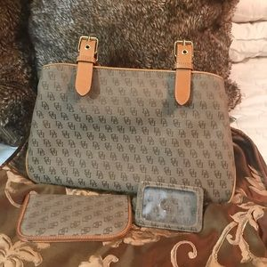 Dooney and Bourke  Buckle Satchel